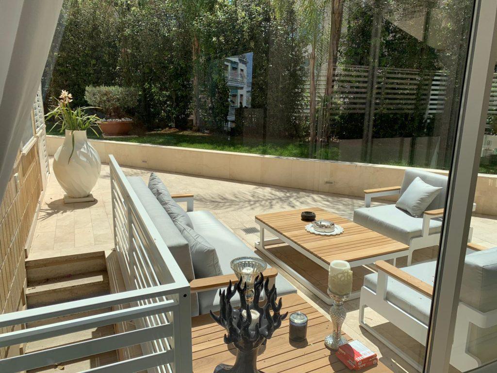 Arredamento e garden design.