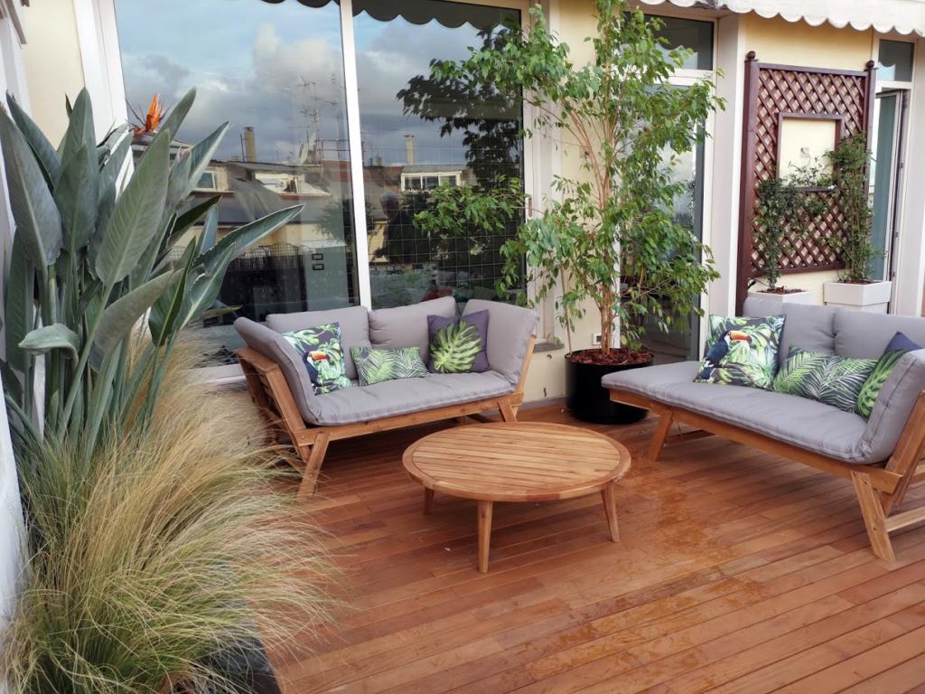 Pavimenti Per Terrazzi Esterni progettazione terrazzi - ornus - garden design.