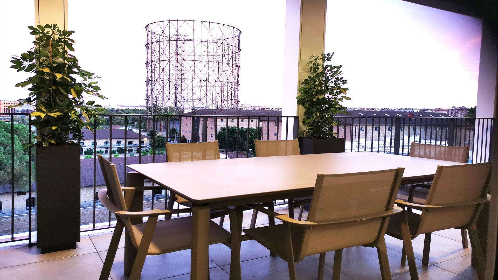 Progettazione Terrazzi Roma E Milano Ornus Garden Design